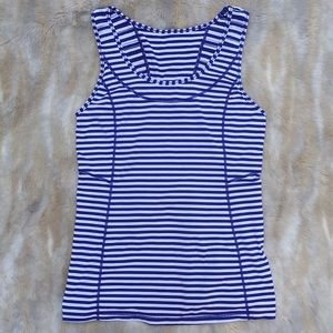 Lululemon Striped Tank Top Size 10
